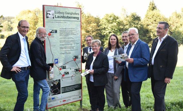 Eröffnung des Ludwig Ganghofer Lausbubenwegs